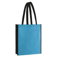 Shopper - Licht Blauw/Zwart