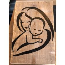 Baby in armen 5