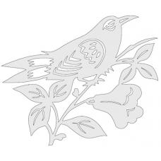 Bird on Plate