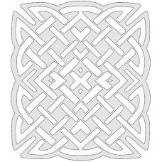 Celtic trivet 1