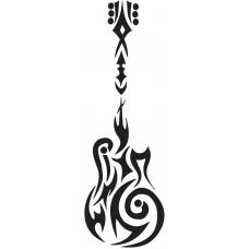 Gitar tribal