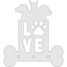 Hondenriem hanger