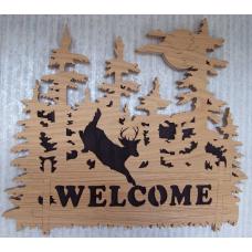 Welcome sign - hert