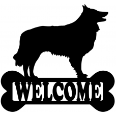 Welcome sign - herder