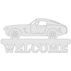 Welcome sign - auto