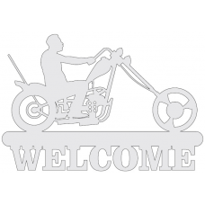 Welcome sign - motor