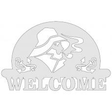 Welcome sign - zeeman