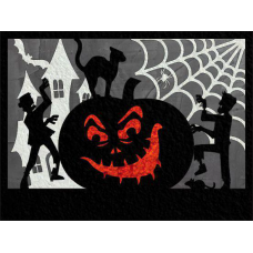 Happy Halloween - Layered
