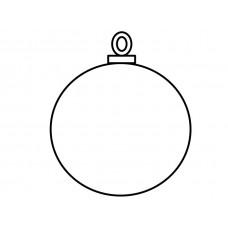 Kerstbal 1 - tbv naam