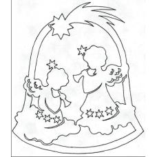 Kerstbel met Engelen