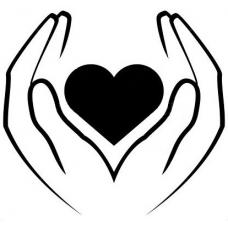 Hart in handen