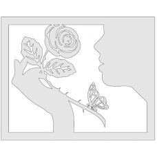 Roos en Vlinder
