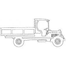 Auto - Diamond T 1921