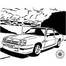 Auto - Opel Manta GTE