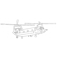 Helicopter - Boeing Model 234 CH-47 Chinook