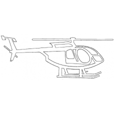 Helicopter - McDonnell Douglas MD 500