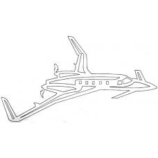 Vliegtuig - Beech Starship 1