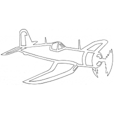 Vliegtuig - Chance Vought F-4U Corsair