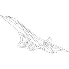 Vliegtuig - Concorde