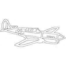 Vliegtuig - Curtiss P-40N