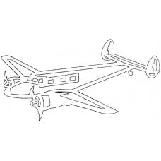 Vliegtuig - Lockheed 12