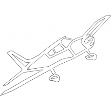 Vliegtuig - Piper PA 28 Cherokee 150