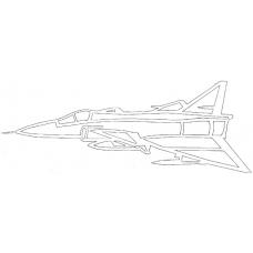 Vliegtuig - Saab AJ 37 Viggen