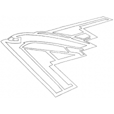 Vliegtuig - Stealth Bomber