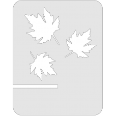 Tablet standaard - Canadeese blaadjes