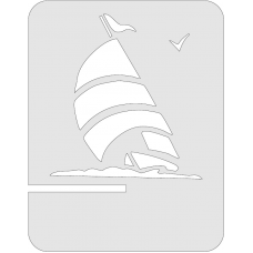 Tablet standaard - Zeilboot