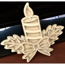 Chistmas candle
